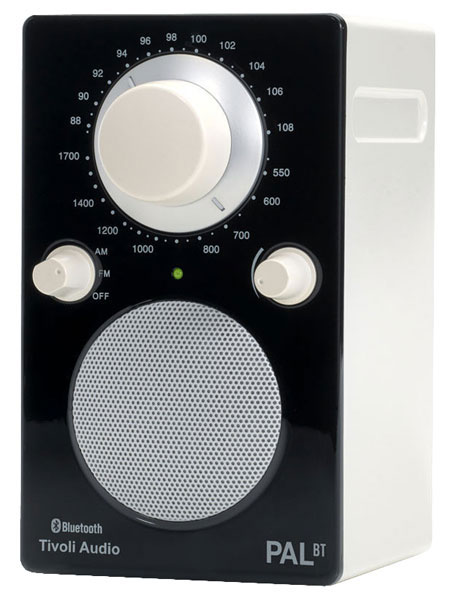 радиоприемник Tivoli Audio PAL BT white/black