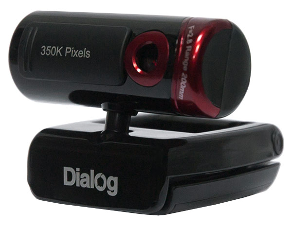 веб камера Dialog WC-20 black/red
