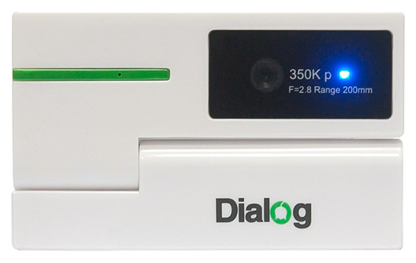 веб камера Dialog WC-50 white/green
