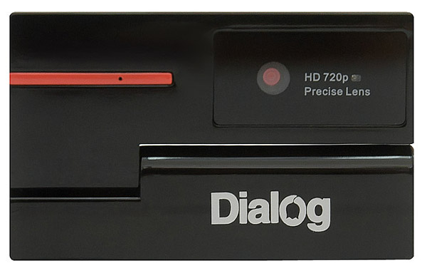веб-камера Dialog WC-51 black/red