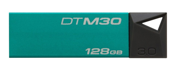 флешка USB Kingston DTM30 128Gb зеленый