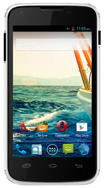 смартфон Micromax Canvas QUAD A092 white