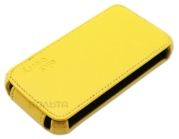 чехол Aksberry FLY IQ4401 Quad Energie 2 yellow