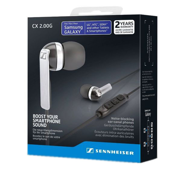 гарнитура для смартфона Sennheiser CX 2.00g black