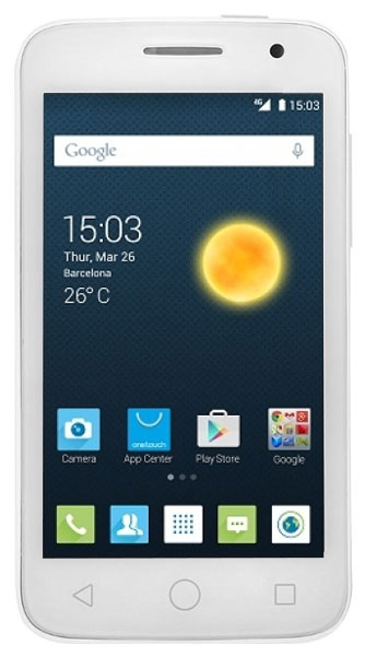смартфон Alcatel OT4045D POP2 pure white