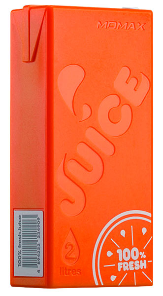 внешний аккумулятор Momax Power Bank iPower Juice IP32 4400 mAh orange