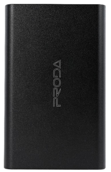 внешний аккумулятор Remax Proda Jane Series Metal 1 USB 12000 mAh black