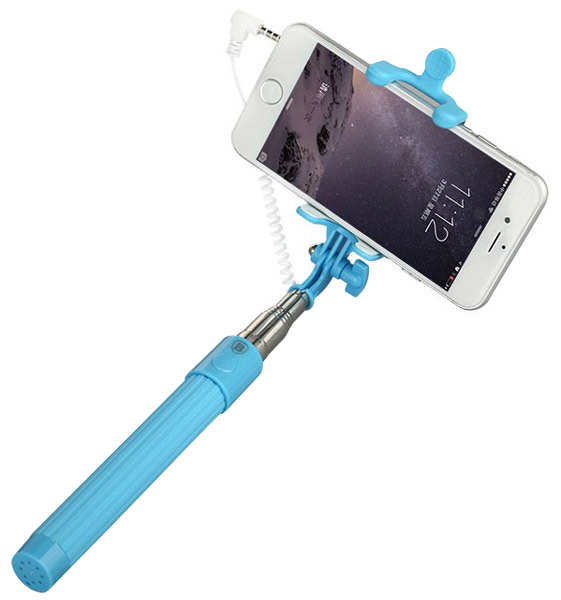 монопод для селфи Baseus Selfie Stick Pro Series High Quality MultiF blue