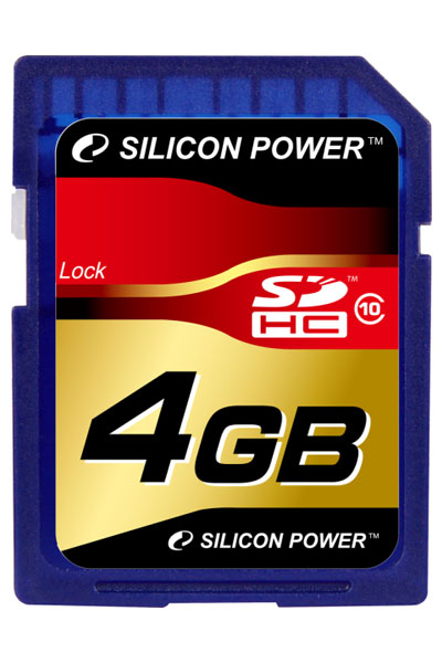 карта памяти Silicon Power 4Gb SDHC Class 10