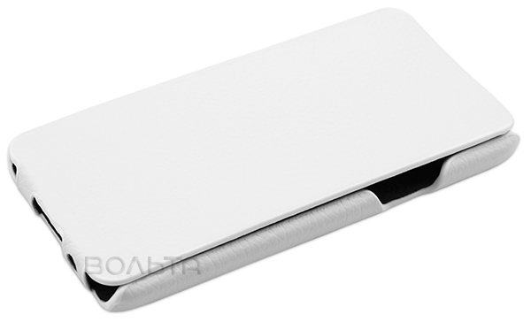 чехол iBox Premium Samsung A3 Leather Case white