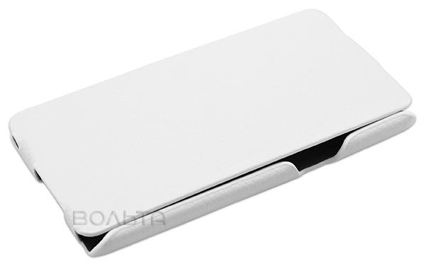 чехол iBox Premium Samsung A5 Leather Case white