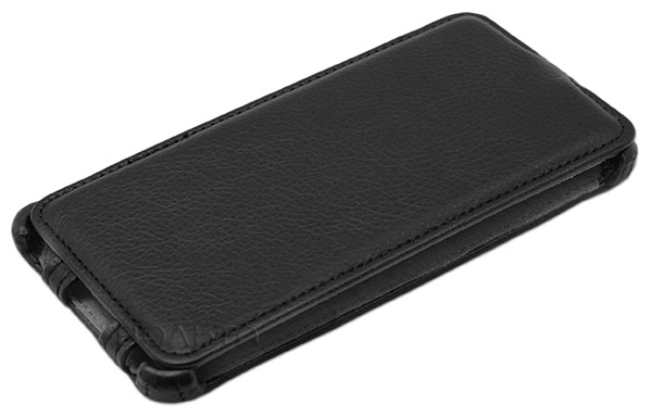 чехол iBox Premium Samsung A7 Leather Case black