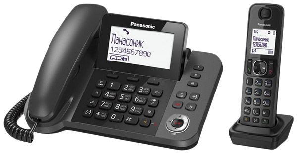 радиотелефон DECT Panasonic KX-TGF320RU grey