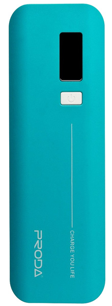 внешний аккумулятор Remax Power Bank V6i Proda Jane Series 10000 mAh blue