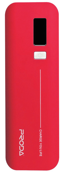 внешний аккумулятор Remax Power Bank V6i Proda Jane Series 10000 mAh red