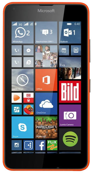 смартфон Microsoft Lumia 640 DS orange