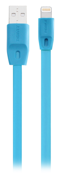 кабель передачи данных Remax Lightning to USB Full Speed Cable Series 1,5м blue