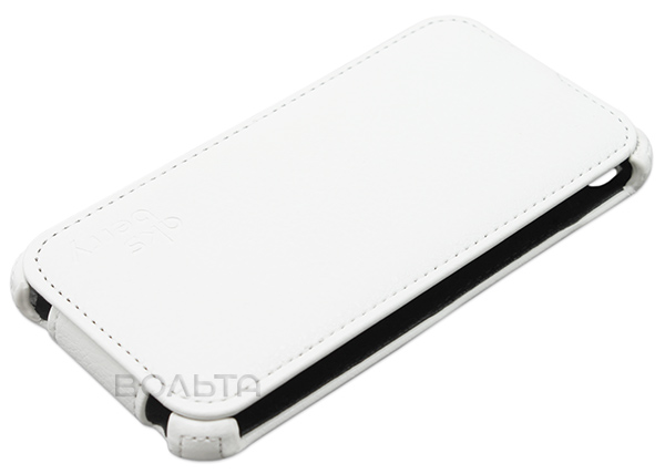 чехол Aksberry Micromax A107 Canvas Fire 3 white