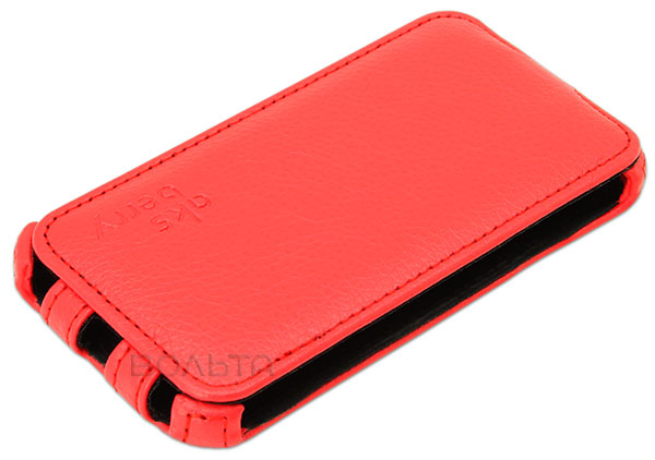 чехол Aksberry Micromax A092 Unite red