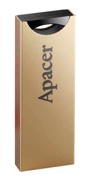 флешка USB Apacer AH133 8Gb gold