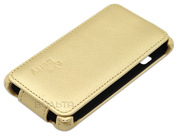 чехол Aksberry FLY FS451 gold