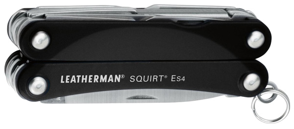 мультитул Leatherman Squirt ES4 black