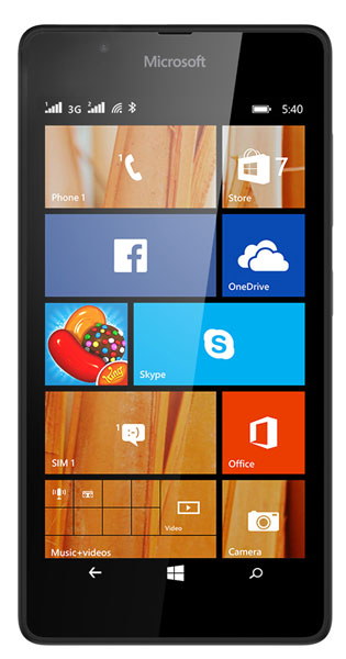 смартфон Microsoft Lumia 540 black