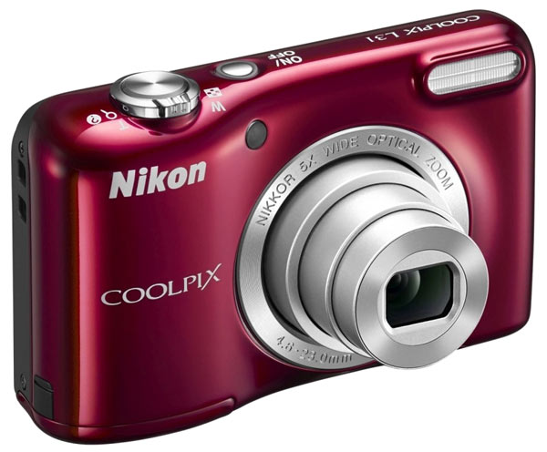 фотоаппарат Nikon Coolpix L31 red