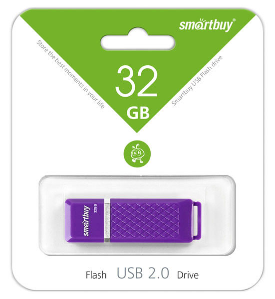флешка USB SmartBuy Quartz series 32Gb violet