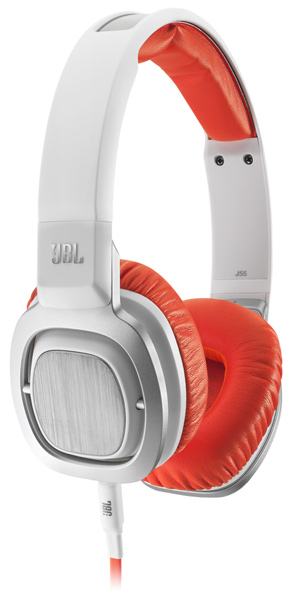 гарнитура для iPhone JBL J55i white/orange