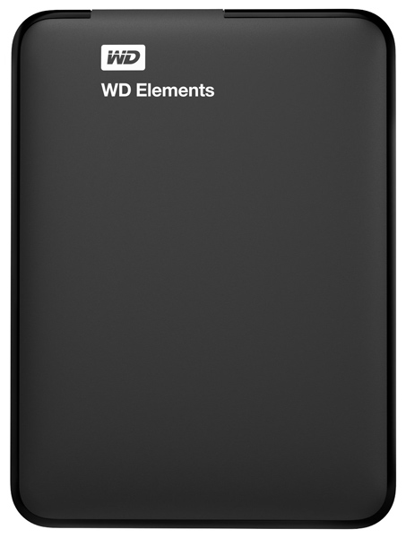 внешний жесткий диск Western Digital 500Gb WDBUZG500ABK-EESN black