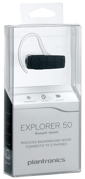 bluetooth гарнитура Plantronics Explorer 50 black