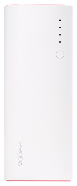 внешний аккумулятор Remax Power Bank Proda Star Talk PPP-12 12000 mAh white/pink