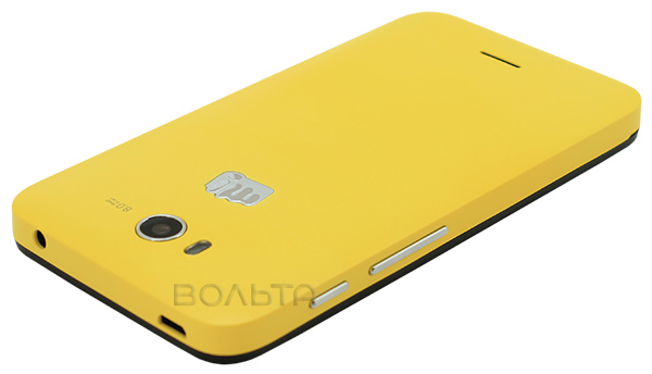 смартфон Micromax BOLT Q379 yellow