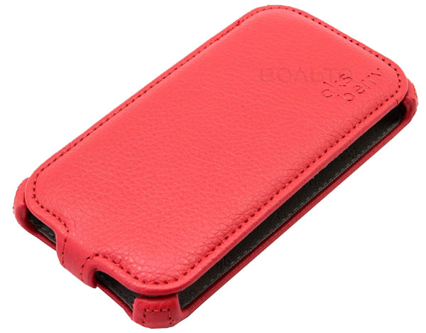 чехол Aksberry Samsung SM-J120 Galaxy J1 2016 red