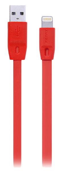 кабель передачи данных Remax Lightning to USB Full Speed Cable Series 1.0м red