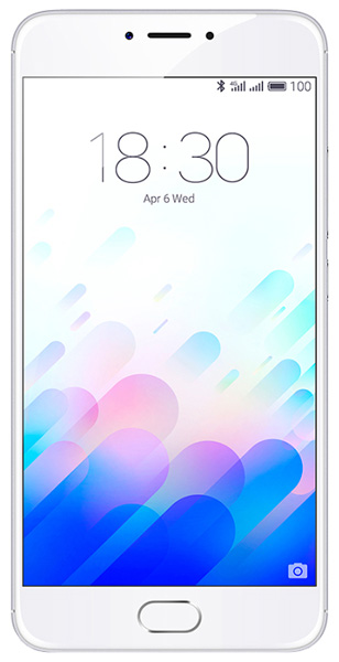 смартфон Meizu M3 Note 16Gb silver/white