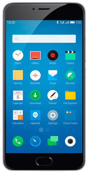 смартфон Meizu M3 Note 32Gb grey/black
