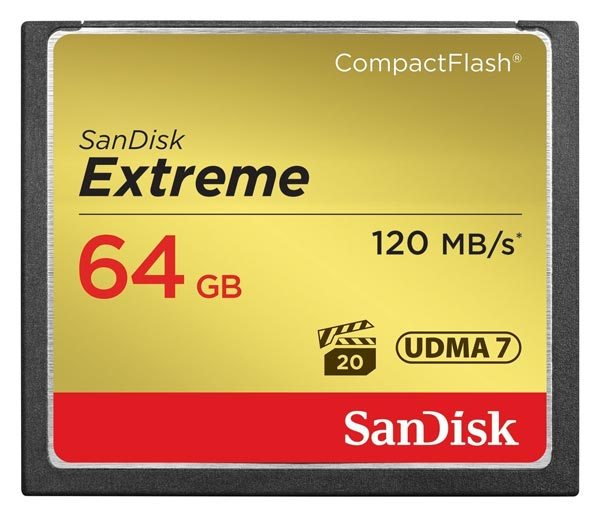 карта памяти SanDisk 64Gb Compact Flash Extreme