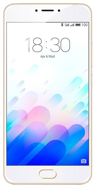 смартфон Meizu M3 Note 16Gb gold/white