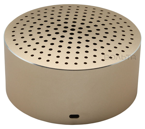 bluetooth колонка Xiaomi Mi Portable Round Box golden