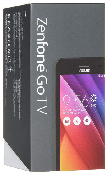 смартфон Asus Zenfone Go TV G550KL 16Gb black