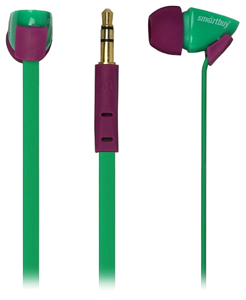 наушники SmartBuy TECHNA green/purple
