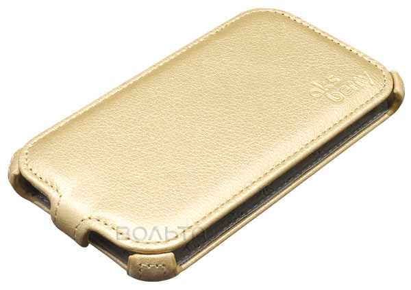 чехол Aksberry Samsung SM-J120 Galaxy J1 2016 gold