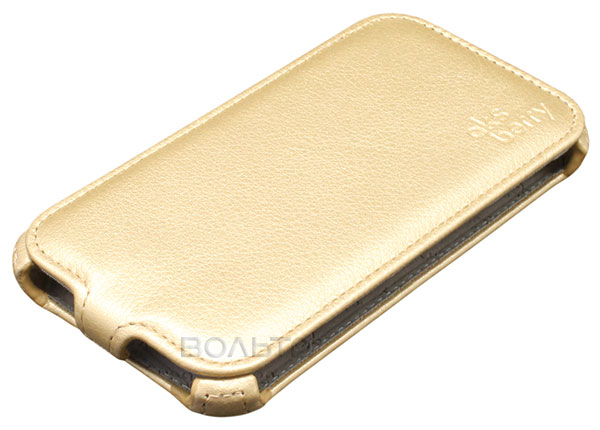 чехол Aksberry Samsung SM-J320 Galaxy J3 2016 gold