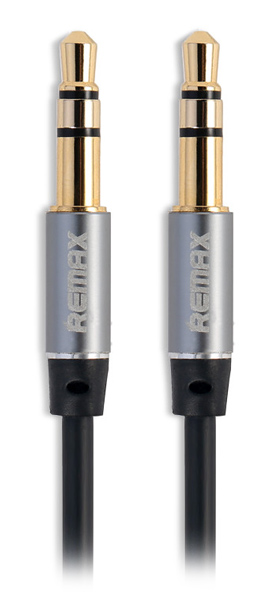 AUX кабель Remax Aux Audio 3.5 mm  RL-L200 2,0m black