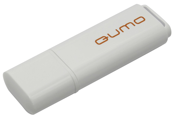 флешка USB QUMO Optiva 01 4Gb white