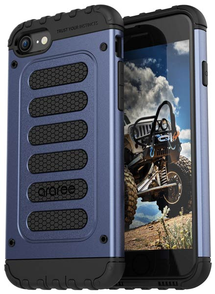 накладка Araree Wrangler Force iPhone7 gravity blue