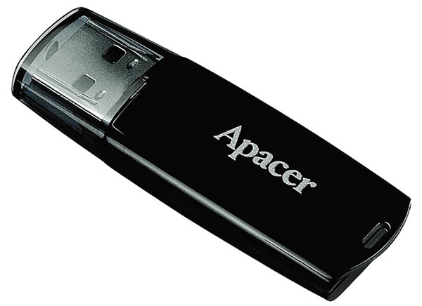 флешка USB Apacer AH322 8Gb black