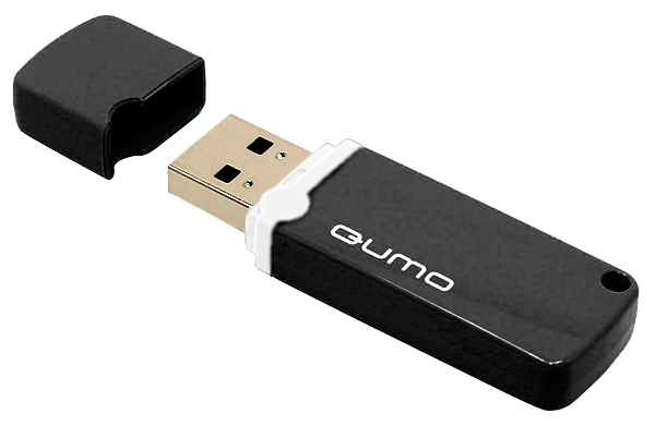 флешка USB QUMO Optiva 02 8Gb black